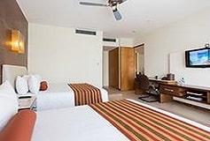 Habitación Suite de 1 Recámara con 2 Camas del Hotel Hotel Krystal Urban Cancún Centro