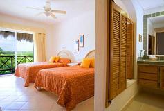 Habitación Villa de Dos Recámaras Vista al Mar del Hotel Hotel Las Villas Akumal