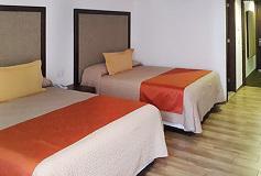 Habitación Sencilla 2 Camas del Hotel Hotel Lepanto