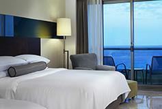 Habitación Deluxe Frente al Mar con Terraza del Hotel Hotel Live Aqua Beach Resort Cancún