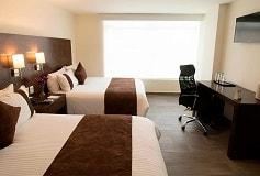 Habitación Estándar Dos Camas Matrimoniales No Reembolsable del Hotel Hotel Misión Express Tampico