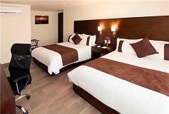 Habitación Estándar Dos Camas Matrimoniales del Hotel Hotel Misión Express Tampico