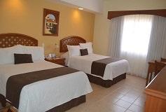 Habitación Preferencial Dos Camas del Hotel Hotel Misión Veracruz
