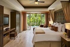 Habitación Junior Suite Swimout King del Hotel Hotel Now Amber Puerto Vallarta