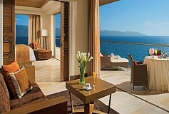 Habitación Preferred Club Master Suite Ocean Front del Hotel Hotel Now Amber Puerto Vallarta