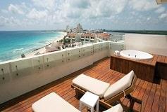 Habitación Preferred Club Suite Luna de Miel del Hotel Hotel Now Emerald Cancún