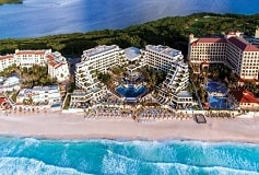 Habitación Preferred Club Ocean Front View del Hotel Hotel Now Emerald Cancún Resort & Spa