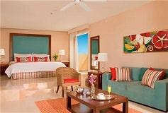 Habitación Junior Suite Vista Tropical con Cama King del Hotel Hotel Now Jade Riviera Cancún