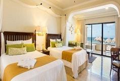 Habitación Preferred Club Jr Suite Doble Frente a la Playa del Hotel Hotel Now Sapphire Riviera Cancún