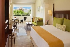 Habitación Preferred Club Junior Suite King Vista Tropical del Hotel Hotel Now Sapphire Riviera Cancún