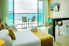 Habitación Deluxe Vista al Mar con Cocineta del Hotel Hotel Ocean Dream BPR
