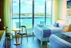 Habitación Estándar Vista a la Laguna Dos Camas del Hotel Hotel Ocean Dream BPR