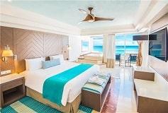Habitación Gran Master Suite de Una Recámara Vista al Mar del Hotel Hotel Panamá Jack Resorts Gran Caribe Cancún