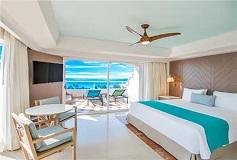 Habitación Gran Master Suite Frente al Mar del Hotel Hotel Panamá Jack Resorts Gran Caribe Cancún