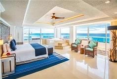 Habitación Gran Suite Presidencial con Vista o Frente al Mar del Hotel Hotel Panamá Jack Resorts Gran Caribe Cancún