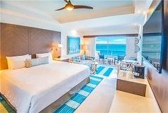 Habitación Junior Suite Frente al Mar del Hotel Hotel Panamá Jack Resorts Gran Caribe Cancún