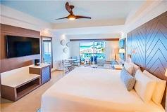 Habitación Junior Suite Vista al Mar del Hotel Hotel Panamá Jack Resorts Gran Caribe Cancún