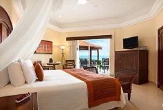 Habitación Gran Junior Suite Con Acceso Directo a la Playa del Hotel Hotel Panama Jack Resorts Gran Porto Playa del Carmen
