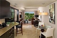 Habitación One Bedroom Suite Swim Up Family Concierge del Hotel Hotel Paradisus Playa del Carmen La Esmeralda