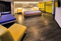 Habitación Junior Suite del Hotel Hotel Perla Central