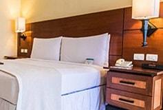 Habitación Superior Vista Parcial al Mar Cama King del Hotel Hotel Pierre Mundo Imperial Riviera Diamante Acapulco