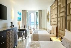 Habitación Superior Deluxe Vista Parcial al Mar del Hotel Hotel Playacar Palace