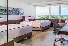 Habitación De Lujo Vista Preferencial al Mar del Hotel Hotel Presidente Intercontinental Cancún Resort