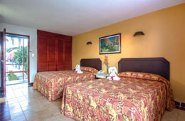 Habitación Standard Vista al Mar del Hotel Hotel Qualton Club Ixtapa