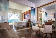 Habitación Altitud Junior Suite Frente al Mar King del Hotel Hotel Reflect Krystal Grand Los Cabos