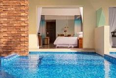 Habitación Junior Suite Swimout Vista al Jardín King del Hotel Hotel Reflect Krystal Grand Los Cabos