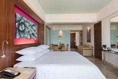 Habitación Junior Suite Vista al Mar King del Hotel Hotel Reflect Krystal Grand Los Cabos