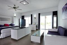 Habitación Villa Jr. Suite Jacuzzi Vista al Mar del Hotel Hotel Riu Palace Península All Inclusive