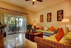 Habitación Palmar Dos Recámaras Jardín del Hotel Hotel Riviera Maya Suites