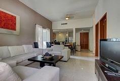 Habitación Palmar Dos Recámaras Vista Calle del Hotel Hotel Riviera Maya Suites