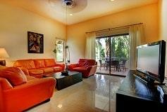 Habitación Palmar Tres Recámaras Jardín del Hotel Hotel Riviera Maya Suites