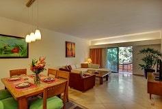 Habitación Suite Dos Recámaras Vista al Jardin del Hotel Hotel Riviera Maya Suites