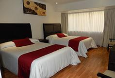 Habitación Estándar Doble del Hotel Hotel Roma Guadalajara