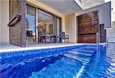 Habitación Luxury Junior Suite Acceso a Piscina del Hotel Hotel Royalton Riviera Cancún Resort and Spa