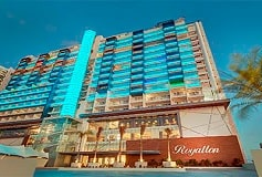 Habitación Luxury Presidental One Bedroom Suite Ocean View del Hotel Hotel Royalton Suites Cancun Resort & Spa