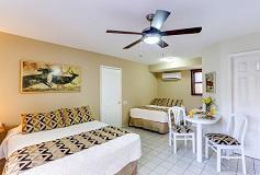 Habitación Estudio Familiar Dos Camas del Hotel Hotel Santa Fe Cabo San Lucas