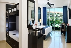 Habitación Habitación Familiar con Vista al Mar del Hotel Hotel Seadust Cancún Family Resort