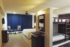 Habitación Suite Familiar con Vista Parcial al Mar del Hotel Hotel Seadust Cancún Family Resort