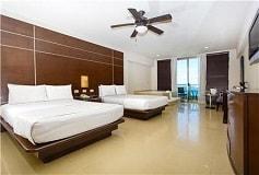 Habitación Club Suite con Vista al Mar y Jacuzzi del Hotel Hotel Seadust Cancún Family Resort