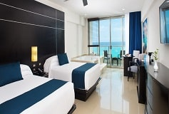 Habitación Habitación Club Vista Mar con Jacuzzi No Reembol del Hotel Hotel Seadust Cancún Family Resort