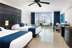 Habitación Luxury Suite 2 Camas Matrimoniales del Hotel Hotel Seadust Cancún Family Resort