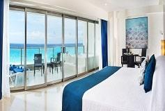 Habitación Suite Frente al Mar con Jacuzzi en la Terraza del Hotel Hotel Seadust Cancún Family Resort