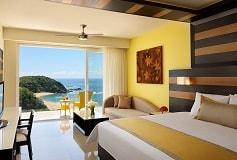 Habitación Junior Suite Ocean Front King del Hotel Hotel Secrets Huatulco Resort and Spa