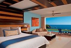 Habitación Preferred Junior Suite Swim Out King del Hotel Hotel Secrets Huatulco Resort and Spa