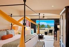 Habitación Junior Suite Vista Parcial al Mar del Hotel Hotel Secrets Maroma Beach Riviera Cancún