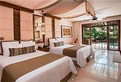Habitación Junior Suite Swim Out King del Hotel Hotel Secrets Playa Mujeres Golf and Spa Resort Todo Incluido - Solo Adultos